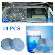 10 uds/Pack(1 Uds = 4L Agua) de limpiaparabrisas bien limpiaparabrisas Auto limpieza coche limpiador de vidrios del parabrisas de la limpieza del coche herramientas de Auto