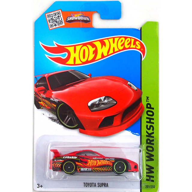 Hot Wheels 164 Car 2016 TOYOTA SUPRA Collector Edition Metal Diecast Cars Collection Kids Toys Vehicle For Gift