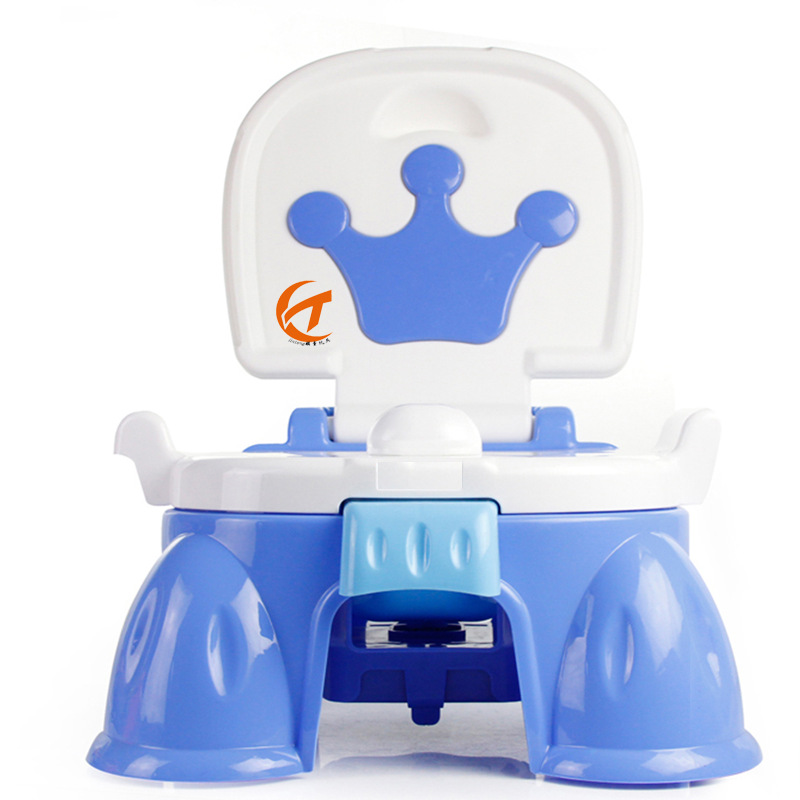 Toilet For Kids Multi-functional Music Sensing Pedestal Pan Foldable Baby Toilet Urinal