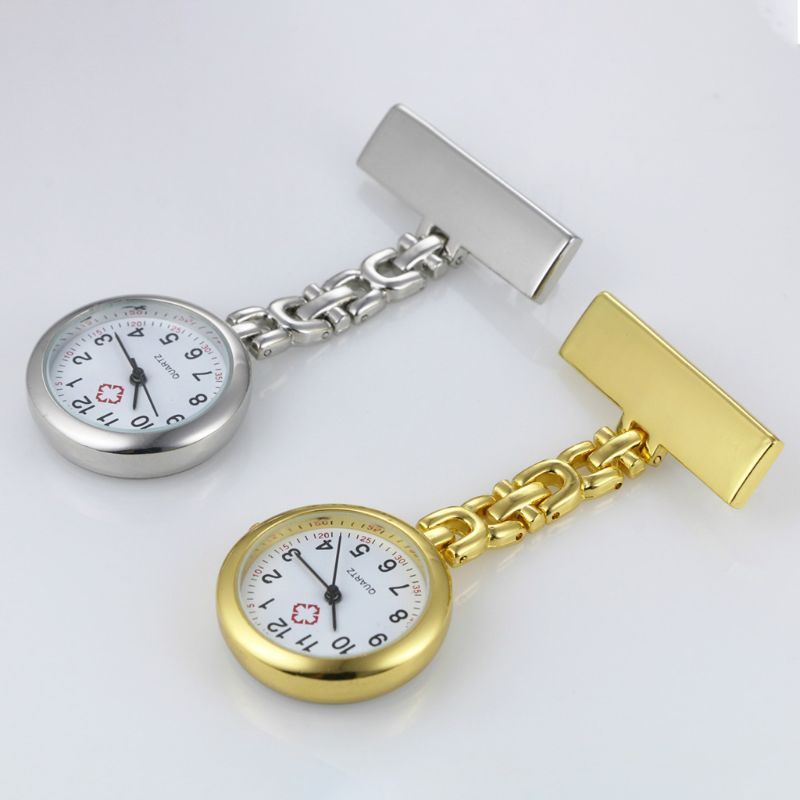 Engraved Nurses Fob/Tunic Watch Custom Personalised Doctor Nurse Hanging Watch Carer Graduation Gift Retro Pocket Watch
