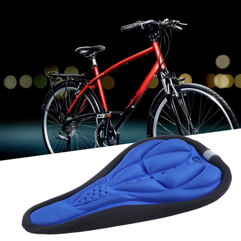 2019 Hot Sale Bike Cushion Pad Men Women Thick Cycling Bicycle Sponge Pad Seat Saddle Cover Outdoor Bike Sports Pad 3 Colors