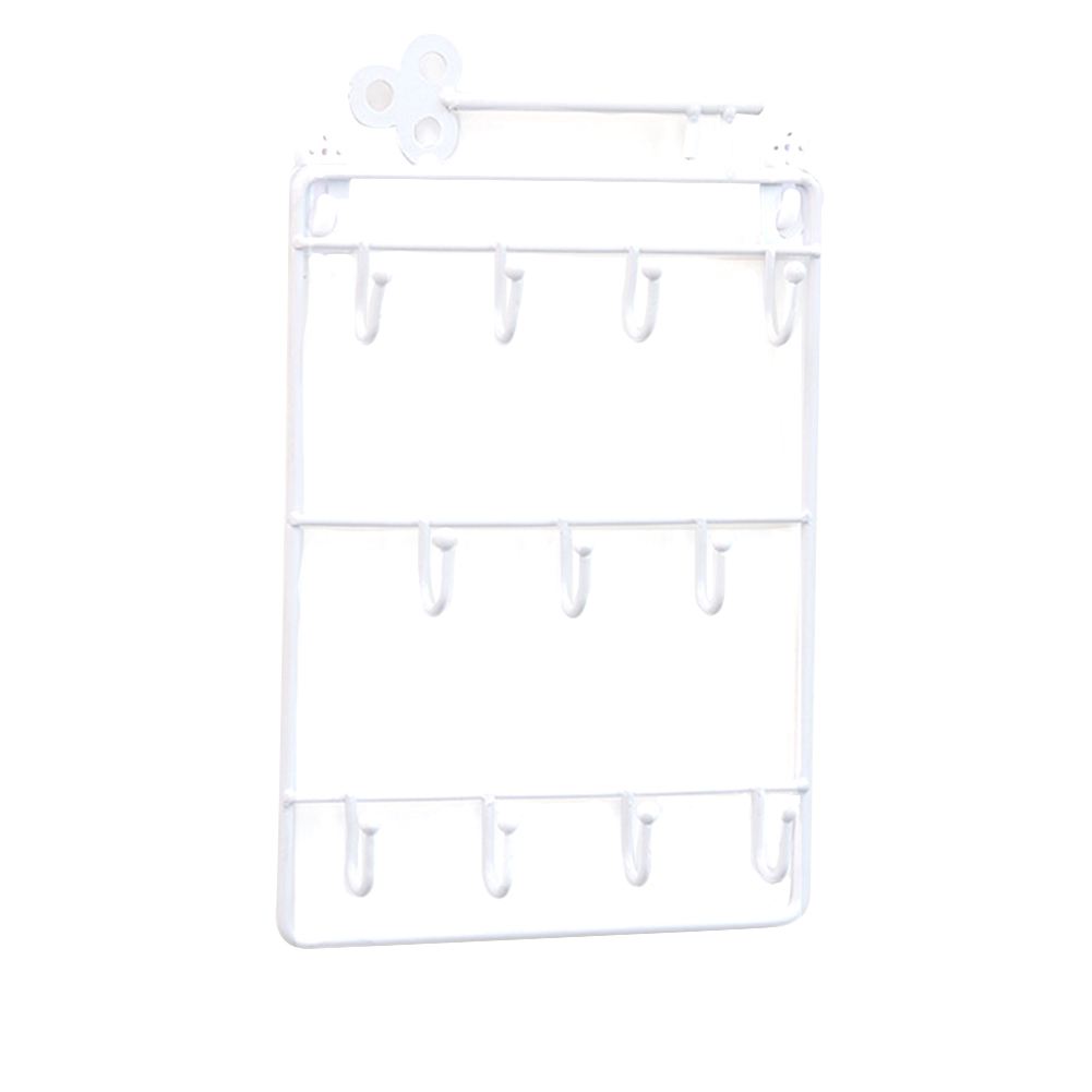 Storage Wall Hanging Bags Organizer Key Holder Home Hair Pin Decorative Bedroom Door Back Living Room Rack Hook Multipurpose