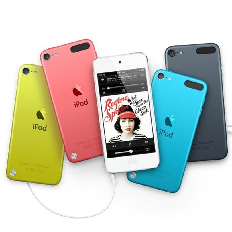 Восстановленный Apple Ipod Touch 5 MP3/4 двухъядерный 4,0 дюймов 1 Гб ОЗУ 16/32 Гб ПЗУ 5 Мп камера без потери качества звука бывший в употреблении музыкальн...