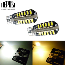 2x T10 194 W5W LED canbus Car Light Auto Bulbs Side Marker Wedge Reading Lamp For Opel C Combo Corsa D Astra H Adam