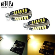 цена на 2x T10 194 W5W LED canbus Car Light Auto LED Bulbs Side Marker Wedge Reading Lamp For Opel C Combo Corsa D Astra H Adam Corsa C