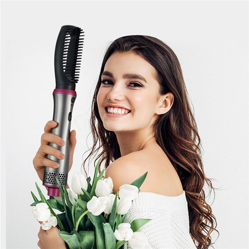 em 1, alisador de cabelo, secador, multifunção,