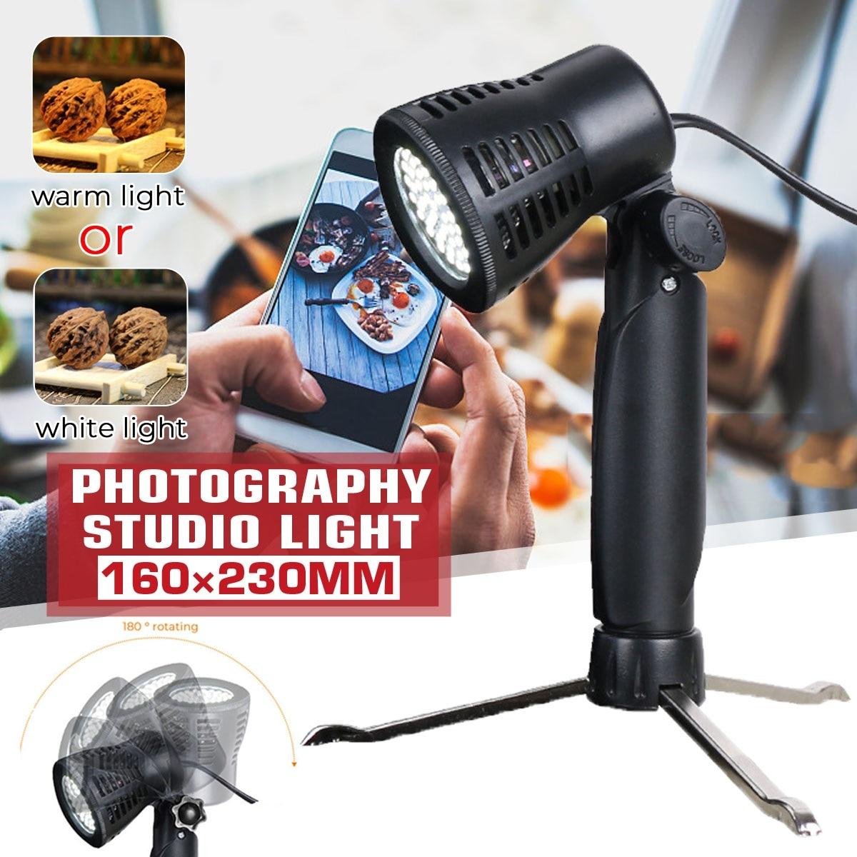 5500K 60Led Bulbs Studio Warm Light Flexible Lamp Stand Small Spotlight LED Studio Lights Live Broadcasting Lights