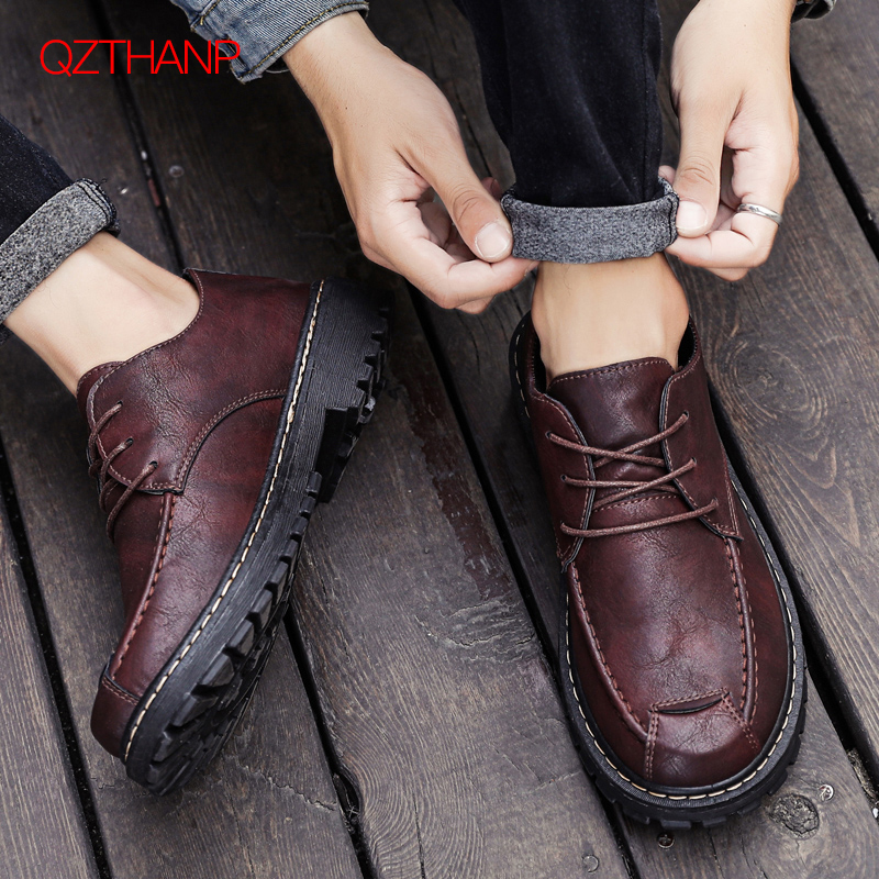 Leather Oxford Shoes For Men Business Dress Loafers Formal Fashion Casual Male Adult Shoes Spring Autumn Shoes Men Wedding Shoes