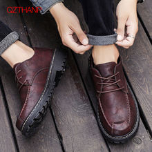 Leather Oxford Shoes For Men Business Dress Loafers Formal Fashion Casual Male A
