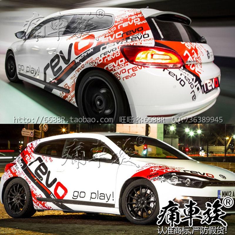 Car Stickers For Golf 6 Golf 7 Exterior Decoration New Golf 2017-2019 Car Body Modification Racing Sticker