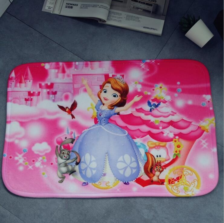 Cartoon Princess Sofia Plush Carpet Foot Pad Door Mat Carpet Plush Toy 3028