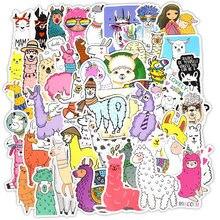 50 шт милые наклейки из ламы альпаки kawaii Мультфильм верблюжья