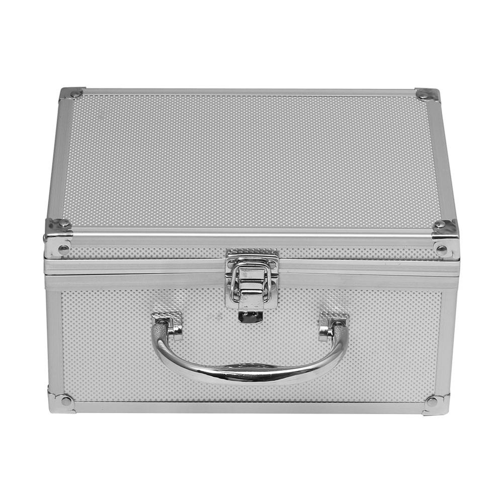 230x150x125mm Tool Box Aluminum Alloy Box Portable Safety Equipment Instrument Case Display Suitcase Hardware Tool Case