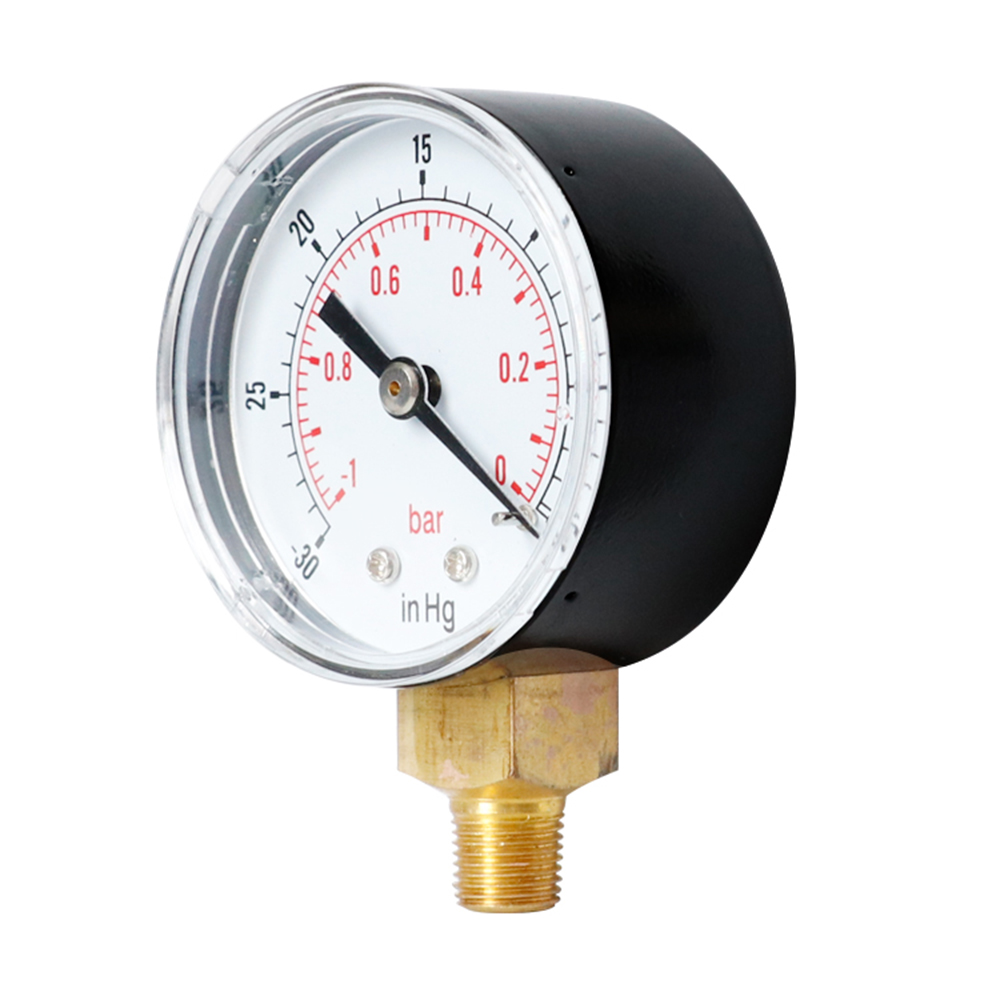 Vacuum Gauge 50mm -1/0 Bar- 30