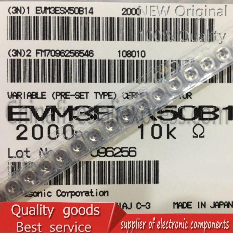 10pcs/lot Patch Trimmer Resistors 20K 3*3 Adjustable Potentiometers Original EVM3ESX50B24