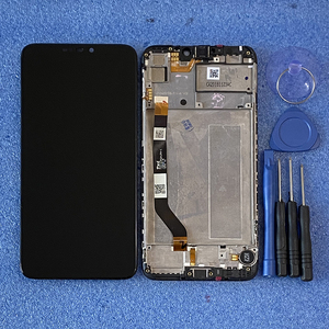 Image 5 - Axisinternational 6.26 بوصة أصلي لـ ASUS ZenFone Max M2 ZB633KL X01AD شاشة عرض LCD + لوحة لمس محول رقمي بإطار شاشة Lcd