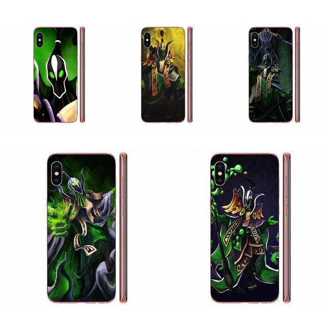 Gra Rubick Dota 2 dla Huawei Honor 5C 5X 6A 6X 7 7A 7X 8 8A 8S 8X 9 10 30 Lite Pro Y6 II Y7 Y9 Prime 2019 miękka TPU Quinn telefon