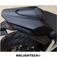MKLIGHTECH For HONDA CB650R CB 650R CBR650R CBR 650R 2019 Motorcycle Rear Seat Cover Rear Tail Cover Rear Passager Seat Cover