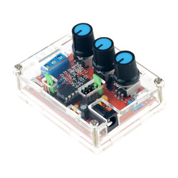 1Hz -1MHz XR2206 Function Signal Generator DIY Kit Sine Triangle Square Output Signal Generator Adjustable Frequency Amplitude