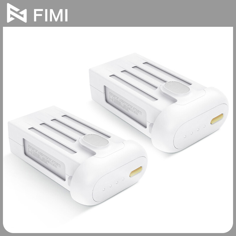 100% Original FIMI 5100mAh Intelligent Battery For 4K Drone / 1080P RC Drone With Gold Button