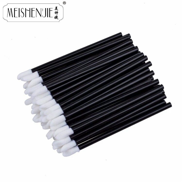 MEISHENJIE 5-100 PCS Disposable Lip Brush Women Accessories Wholesale Gloss Wands Applicator Perfect MakeUp Tool Fashion Hot New