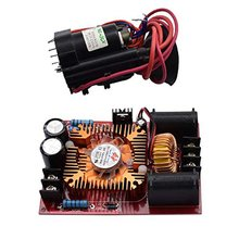 ZVS Tesla Coils Flyback Driver Module Induction Heating Board Power Module Heater With Ignition Coil Tesla coil flyback driver