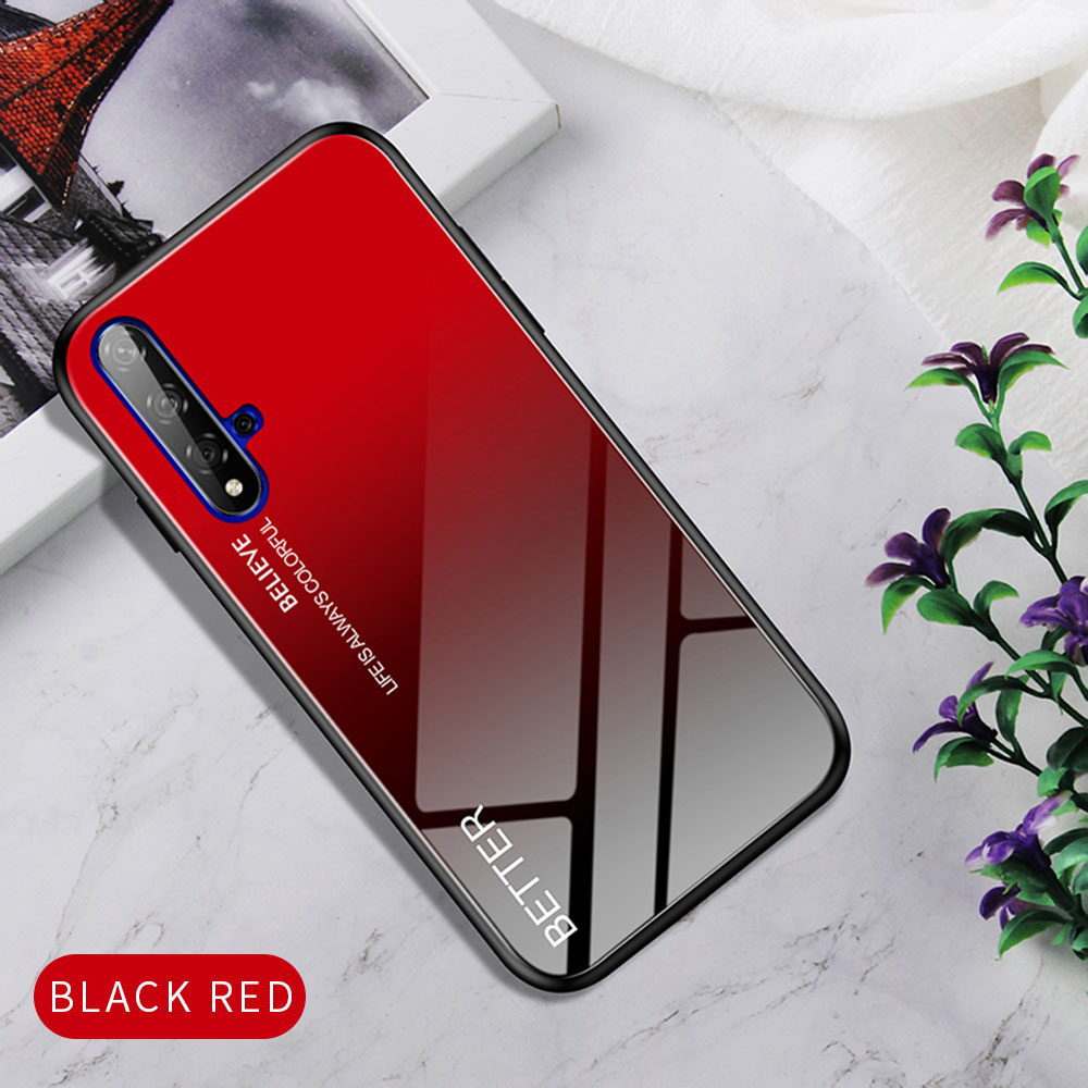 Hc9ad0cd96543474ea1c86ceb81d8dab3X Phone Case for Huawei Honor 20s 20 Case Marble Tempered Glass Soft Tpu Frame Back Case for Huawei Honor 20s Honor 20 Pro Case