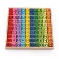Обучающие Детские игрушки Монтессори, детские математические арифметические игрушки, таблица умножения 99, деревянные математические стро...