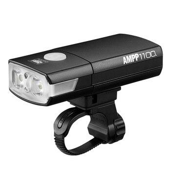 CATEYE  Bicycle Light Headlight USB Rechargebale 1100LM Cycling Handlebar Night Rainproof Front Bike Flashlight Bike Accessories