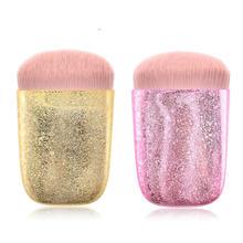 Кисти для макияжа профессиональная косметическая кисть розовая