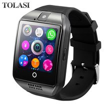 Smart watch with Touch Screen camera Support TF card Bluetooth smartwatch for Android IOS Phone Smartwatch