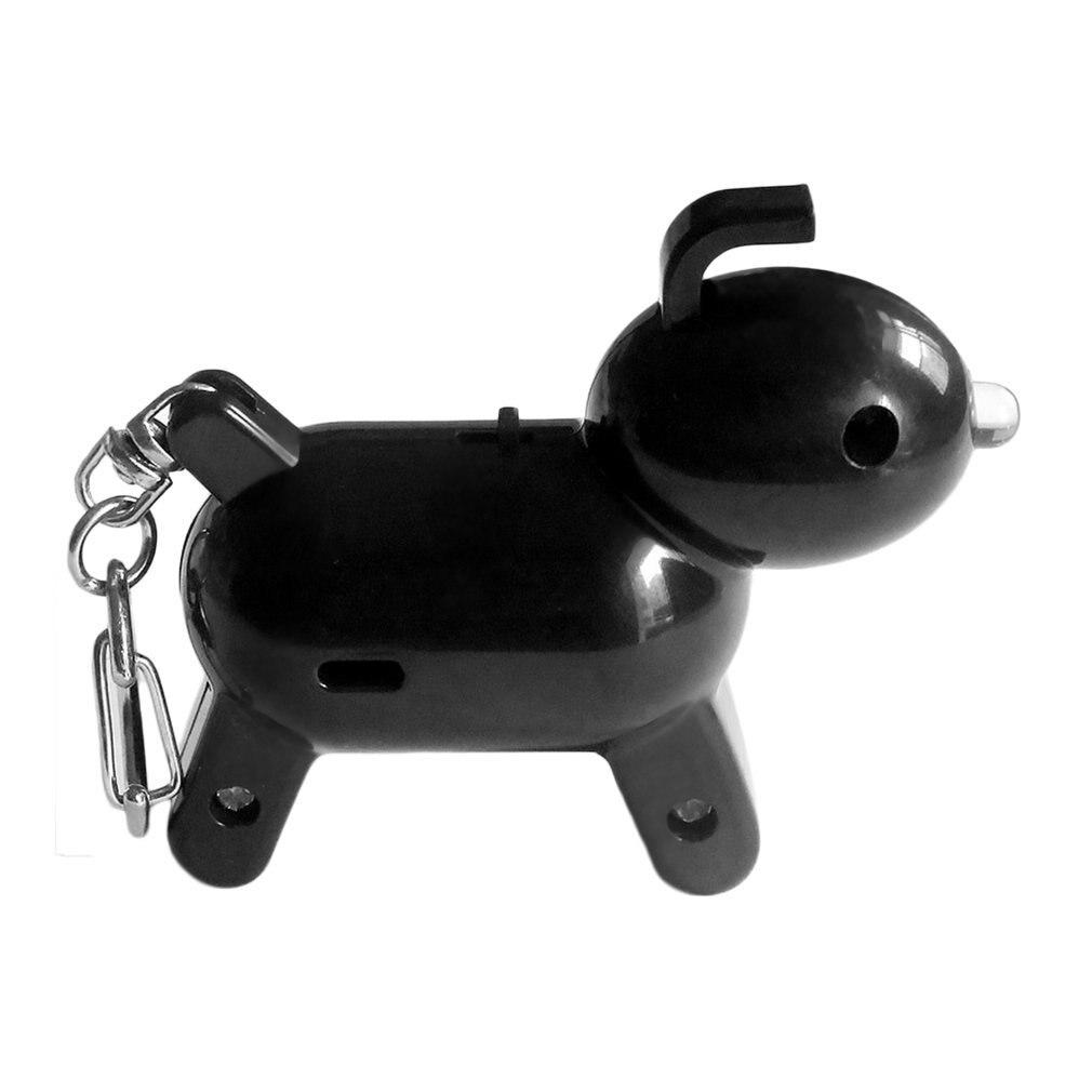 Whistle Key Finder Intelligent Voice Control Keychain Locator Cartoon Dog Keyfinder Anti-Lost Device