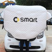 Pour Mercedes Smart Fortwo Forfour 450 451 453 454 Cabrio City-coupé Crossblade Roadster Coupe bâches de voiture voiture pare-brise couverture