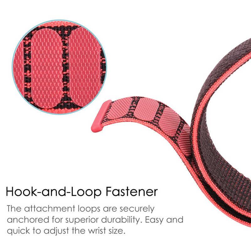 ل شاومي Huami Amazfit GTR 47 مللي متر 42 مللي متر حزام ساعة اليد النايلون سوار سيليكون Watchband 20/22 مللي متر عرض الفرقة 2 قطعة