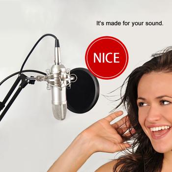 Stojak mikrofonowy składany mikrofon montaż na stole wiszący uchwyt na narzędzia mikrofon odpowiedni do różnych mikrofonów tanie i dobre opinie FORNORM Mic Stand Microphone stand Steel Aluminum alloy 1 Microphone stand(with Microphone clip and Base clamp) 1 Package box