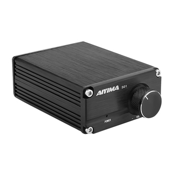 AIYIMA TPA3116 100W Subwoofer Audio Amplifier TPA3116D2 Mono Digital Power Amplifiers Amplificador With NE5532 OP AMP aiyima tpa3116 subwoofer bluetooth amplifier hifi tpa3116d2 2 1 channel digital audio amplifiers 50w 2 100w dc12 24v