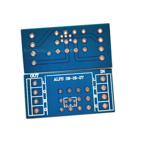Image 3 - 4 piece potentiometer PCB for amplifier PCB for ALPS  9 type 16 type 27 type