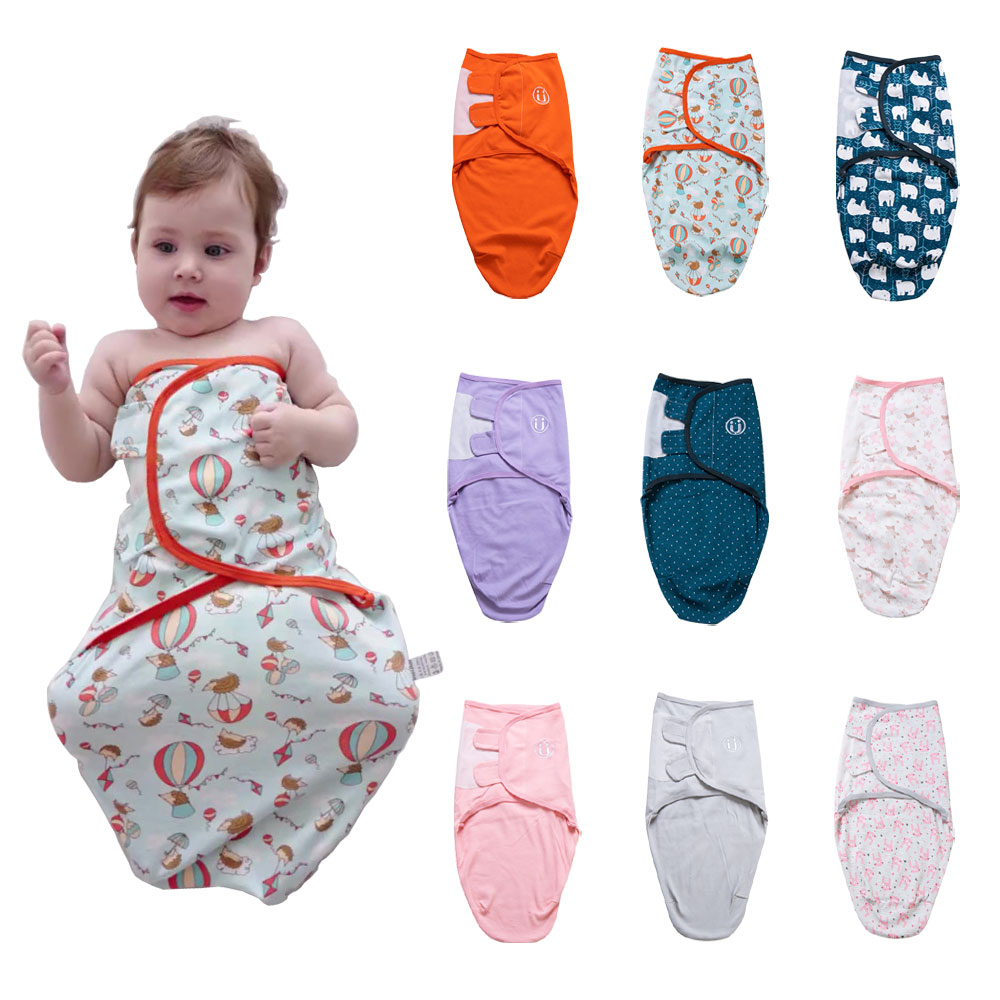 HereNice 2 PCS/Lot Newborn Cocoon Pod Sleeping Bag Toddler Baby Sleepsack Infant  Swaddle Sleep Sack Children Blanket