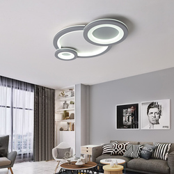 Ultracienki kreatywne nowoczesne lampy sufitowe LED lampy do salonu sypialnia nabłyszczania de sala domu Deco LED lampa sufitowa