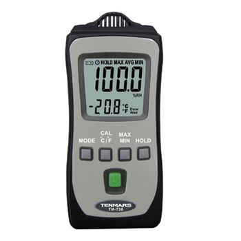 TENMARS TM-730 Temperature/ Humidity Meter Use For Humidity, Temperature, Wet bulb and Dew point. tenmars mini thermometer hygrometer tm 730 pocket size humidity tester temperature meter termometro digital