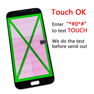Image 4 - ORIGINAL 5.5 SUPER AMOLED Red Burn LCD with frame for SAMSUNG Galaxy s7 edge G935 G935F Touch Screen Digitizer Display