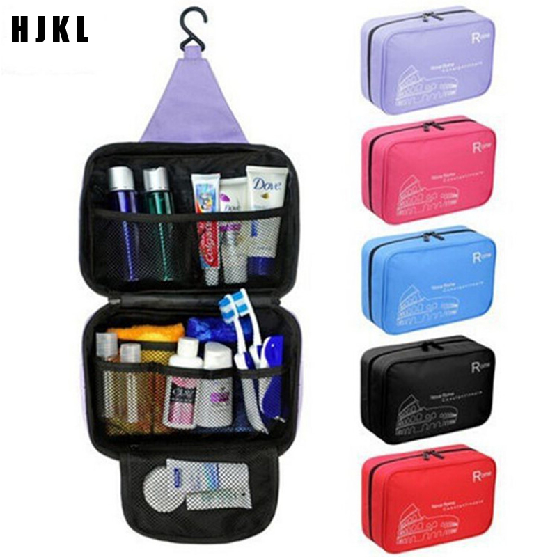 Travel Toiletry Organizer Female Makeup BagShower Organizer Toilettas Multifunction Cosmetic Bag Foldable Cosmetic Makeup Case S