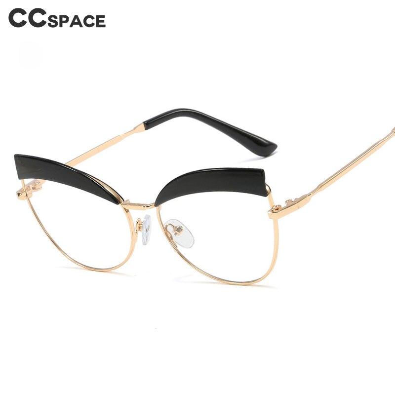 48073 Cat Eye Retro Glasses Frames Men Women Optical Fashion Computer Glasses