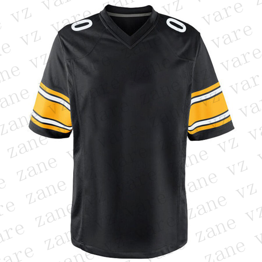 Customize Mens Sports Fans American Football Jerseys JuJu Smith-Schuster James Conner TJ Watt Devin Bush Joe Haden Mason Rudolph Cheap Pittsburgh Jersey