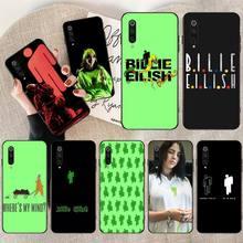 PENGHUWAN Билли Eilish логотип DIY печать телефон чехол для Редми Примечание 8 7 6 5 4 8А 6а 5а 4А 4х гоу про плюс премьер