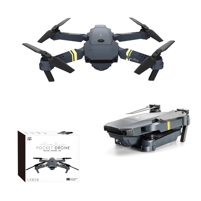 Hot Selling Long Life Folding Quadcopter With Wide-angle Aerial Photography Set High Remote-controlled Unmanned Vehicle Toy