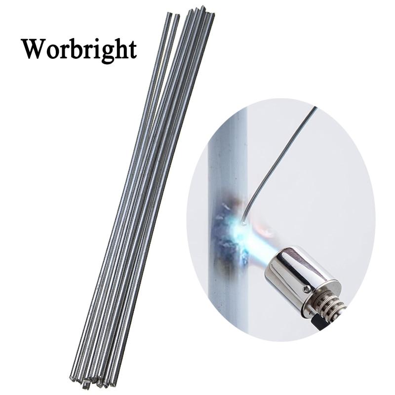 Worbright универсальные сварочные стержни из меди и алюминия, железо, нержавеющая сталь, сварочный стержень, сварочный электрод без порошка