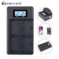 LP E6 LPE6 LP-E6 E6N chargeur de batterie LCD double chargeur pour Canon EOS 5DS R 5D Mark II 5D Mark III 6D 7D 80D EOS 5DS R appareil photo