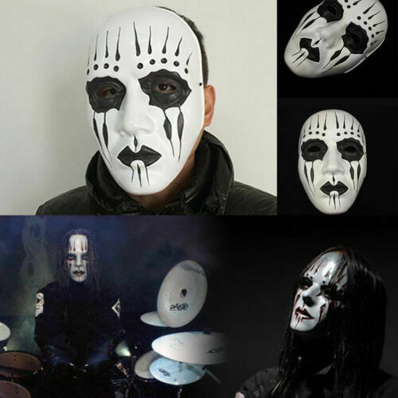 Slipknot Band Joey Jordison Plastic Mask Halloween Party Masquerade Cosplay Props