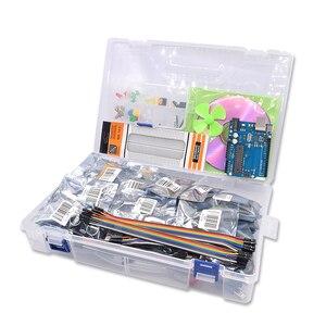 Image 3 - Freies Verschiffen Diy R3 Projekt Komplette Starter Kit mit Lektion CD für Arduino